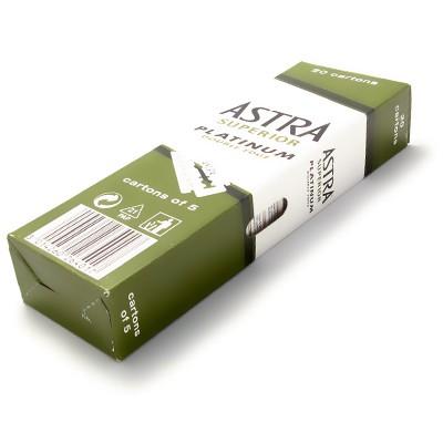 Astra Superior Platinum DE-blad 100-pack (20x5)