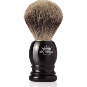 Mondial Basic Shaving Brush Fine Badger, Black